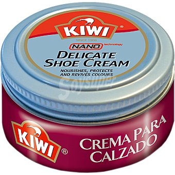 Kiwi Limpia calzado crema burdeos Tarro 50 ml