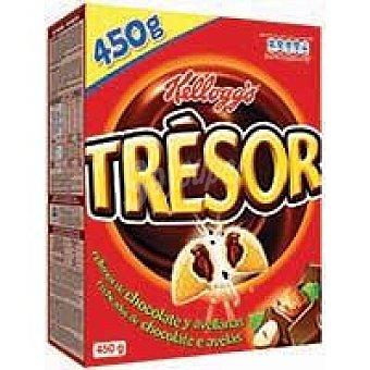 Trésor Kellogg's Cereales rellenos de Chocolate y Avellanas 450 g