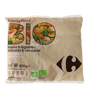 Carrefour Bio Salteado 6 verduras 600 g