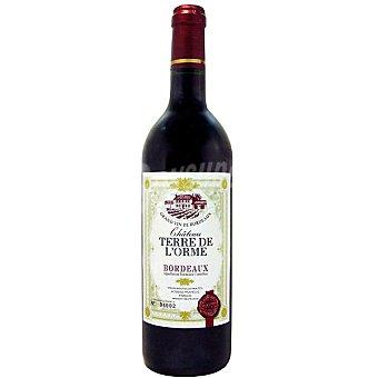 TERRE DE L'ORME Vino tinto de Burdeos Francia Botella 75 cl