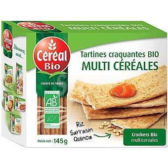 CEREAL BIO crackers multicereales ecológicos  envase 145 g