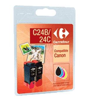 Carrefour Cartucho de tinta CFC24B/24C carrefour