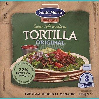 Santa Maria Tortilla ecológica super tierna bolsa 320 g bolsa 320 g