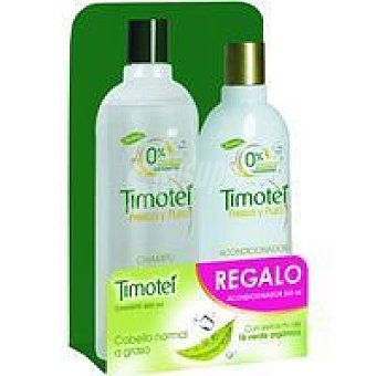 Timotei Champù fresco-puro Bote 400 ml + Acondicionador