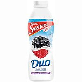 Sveltesse Nestlé Yogur líquido de frambuesa-mora botella 700 g