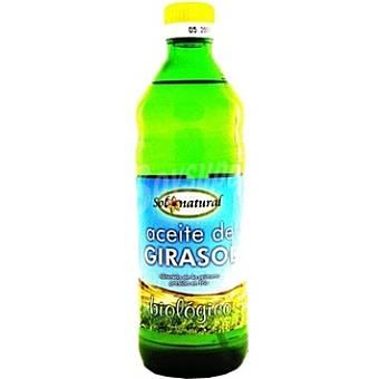 SOLNATURAL Aceite de girasol ecologico Botella 500 ml