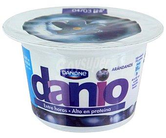 Danio Danone Danio yogur bajo en grasa con arándanos alto en proteína  envase 150 g