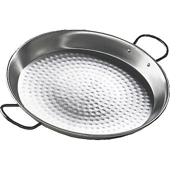VAELLO Paellera de acero pulido de 30 cm