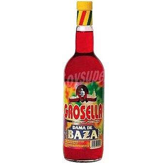 Dama de Baza Refresco concentrado de grosella sin alcohol Botella 1 l