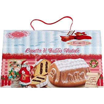 DALCOLLE Caseta Navidad panettone con chocolate  estuche 750 g