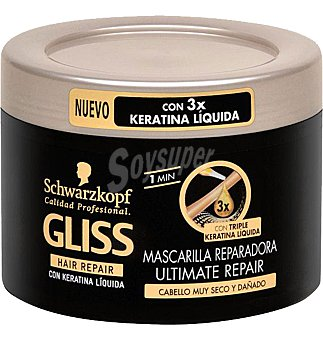 Gliss Schwarzkopf Mascarilla ultimate repair 200 ML