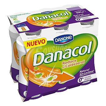 Danacol Danone Natural sin lactosa x 6 danone 100 GR