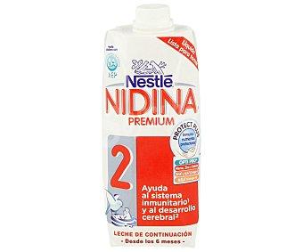 Nidina Nestlé Leche 2 de continuación líquida 500 ml