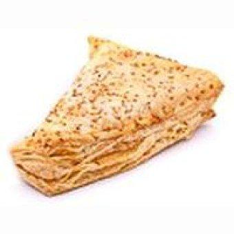 Eroski Triángulo hojaldrado de jamón-queso Unidad
