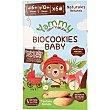 Biocookies Baby galletas ecológicas endulzadas con zumo de manzana desde 6 meses envase 150 g sin azúcar añadido y sin aceite de palma envase 150 g Yammy