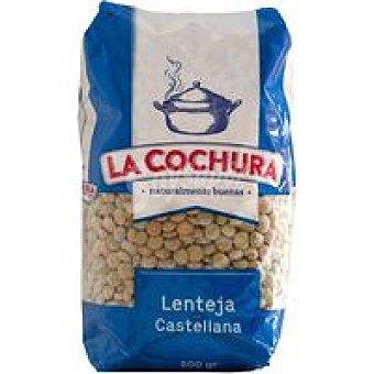 LA COCHURA Lenteja castellana del PaÍs Paquete 500 g