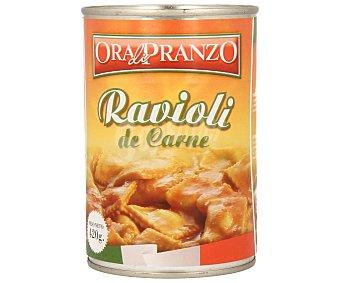 ORA DI PRANZO Ravioli de carne 420 gramos