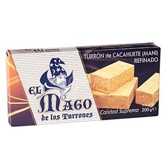 EL MAGO Turrón de cacahuete blando estuche 200 gr Estuche 200 gr