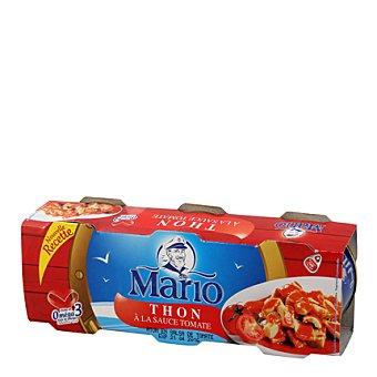 Mario Atún con Tomate Pack de 3x52 g