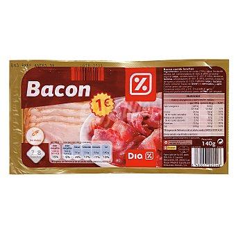 DIA Bacon lonchas Envase 140 gr