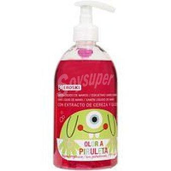 Eroski Jabón tocador líquido infantil Dosificador 500 ml