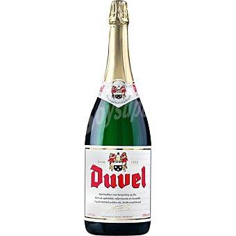DUVEL cerveza rubia belga Magnum botella 1,5 l