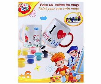 RIK & ROK Juego para personalizar tus tazas de té 1 Unidad
