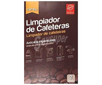 Careli Limpiador de cafeteras Pack 2x100 ml