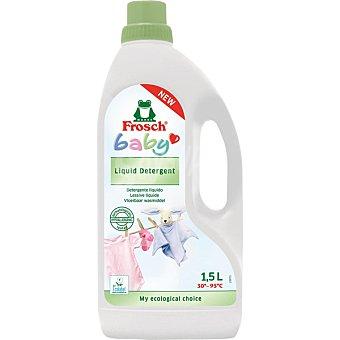 FROSCH Detergente máquina líquido Baby Botella 1,5 l