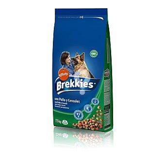 Alimento para perros con pollo y cereales
