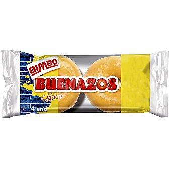 BIMBO Buenazos Clásicos 4 unidades envase 200 g 4 unidades