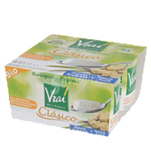 Vrai Yogur natural azucarado Pack de 4x125 g