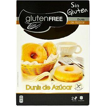 GLUTENFREE Dunis de azúcar congelados sin gluten envase 100 g 2 unidades