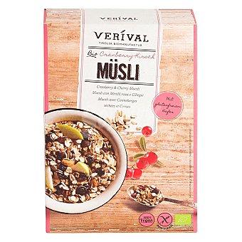 Verival Cereales con arándanos y cereza ecológicos Muesli sin gluten 300 g