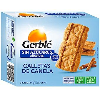 Gerblé Galletas de canela sin azúcares añadidos Envase 113 g