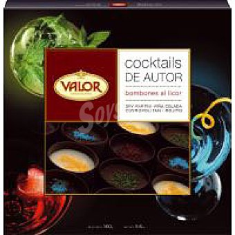 Valor Cocktail de autor Caja 160 g