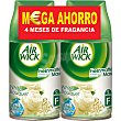 Ambientador Automático Recambio Fresh Matic White Bouquet Pack 2 ud Air Wick