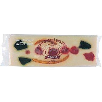 VICENS AGRAMUNT turrón de mazapán y fruta tableta 300 g