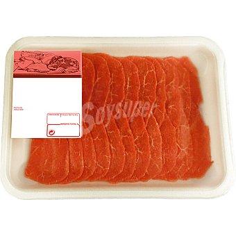 GOURMET Ternera Carpaccio peso aproximado Bandeja 170 g