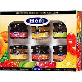 Hero Confitura surtida Pack 6x32 g