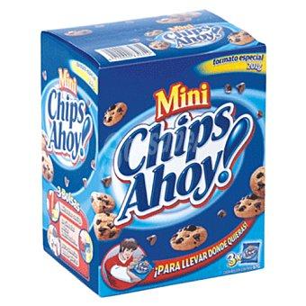 Príncipe Mini galletas con pepitas de chocolate caja 201 grs