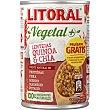 Vegetal lentejas con quinoa & chía Lata 420 g Litoral