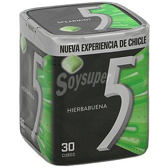 Five Chicles sabor hierbabuena Paquete 30 uds 72 g