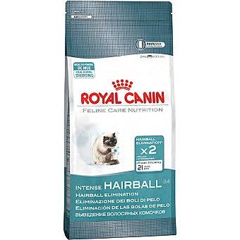 Royal Canin Alimento especial para gatos para la doble eliminación de bolas de pelo Intense Hairball Bolsa 4 kg