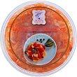 Ensalada de ahumados mezcla de salmón, bacalao, trucha y colín Tarrina 500 g Ahumados Domínguez