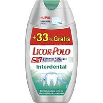 Licor del Polo Dentífrico 2en1 interdental Bote 100 ml