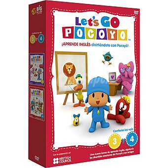 GO Let's Pocoyo, Vol. 3-4 DVD