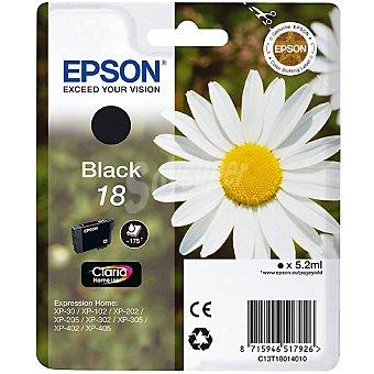 Epson Nº 18 cartucho de tinta color negro