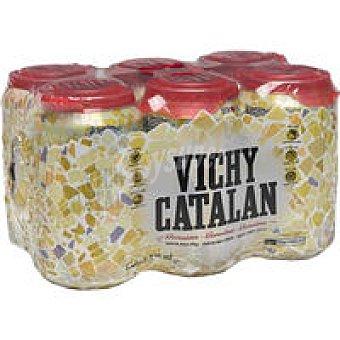 Vichy Agua con gas Pack 6x33 cl