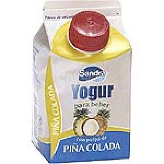 Sandra Yogur líquido con pulpa de piña colada Envase 250 g